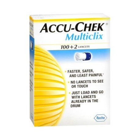 Lancety Accu-Chek Multiclix 102 1 op.